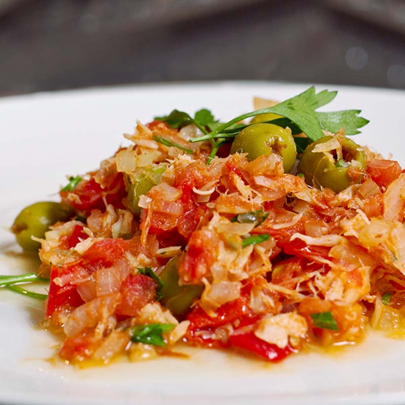 Bacalao Clamato Food Recipe