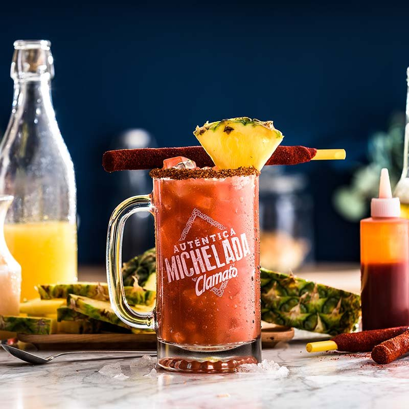 Chamochela Clamato Michelada Drink Recipe