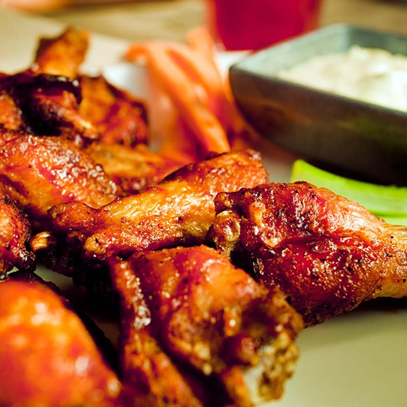 Spicy Grilled Wings Clamato Food Recipe